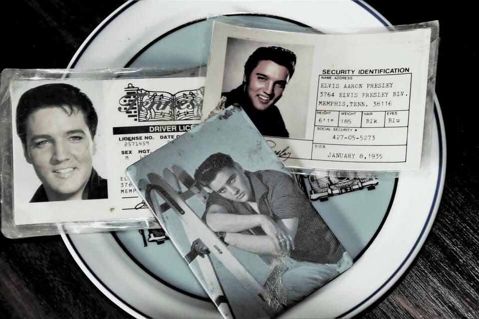 Rockabilly-Frisur: Elvis Presley